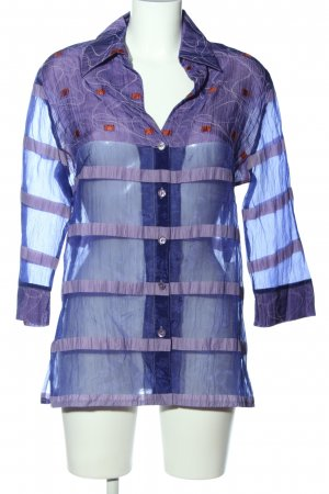 Tuzzi Hemd-Bluse blau-rot Casual-Look