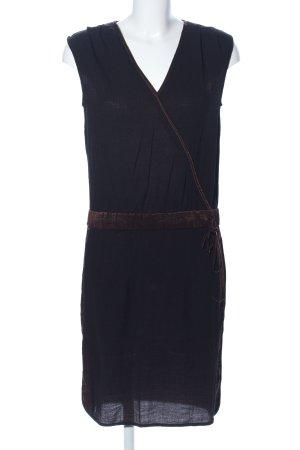 Tuzzi Minikleid schwarz-braun Casual-Look