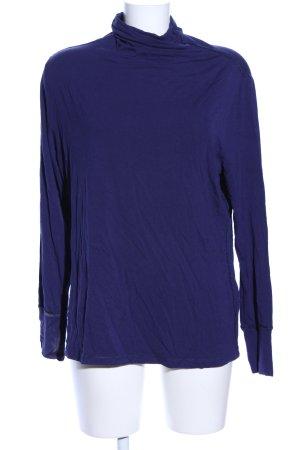 Tuzzi Turtleneck Shirt blue casual look