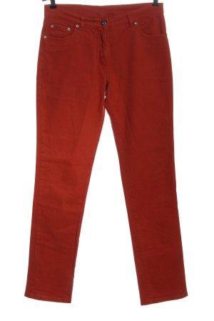 Tuzzi Jeans slim fit rosso stile casual