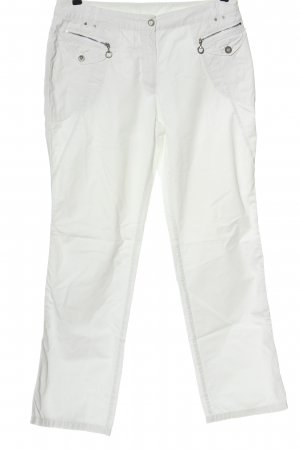 Tuzzi Jersey Pants white casual look