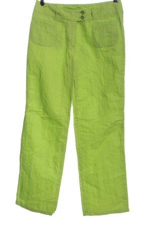 Tuzzi Pantalone jersey verde stile casual