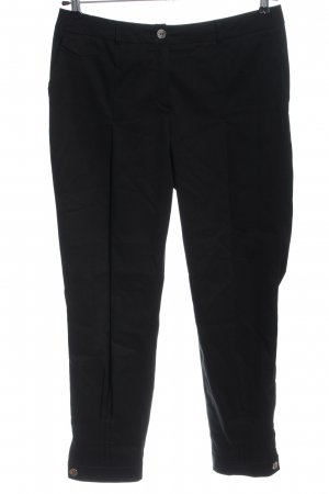 Tuzzi Pantalone jersey nero stile professionale