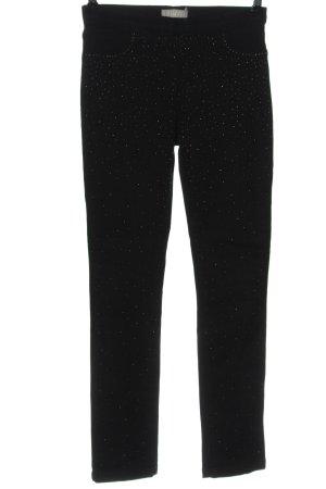 Tuzzi Pantalone elasticizzato nero stile casual