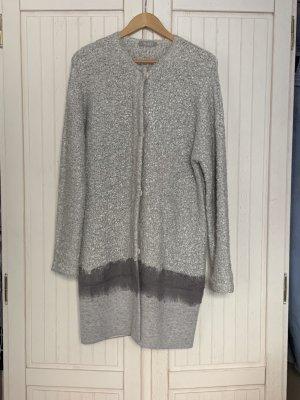 Tuzzi Giacca lunga argento-grigio chiaro