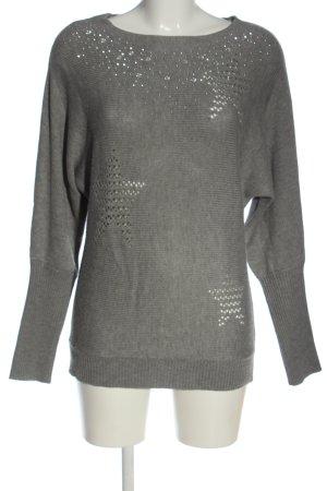 Tuzzi Maglione lavorato a maglia grigio chiaro stile casual