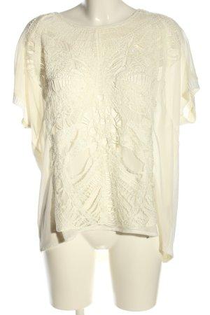 Tuzzi Strickshirt creme Casual-Look