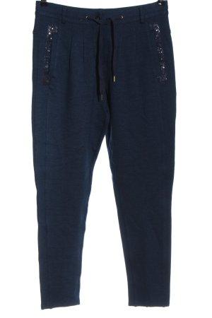Tuzzi Pantalon de jogging bleu style décontracté