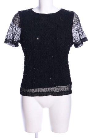 Tuzzi T-Shirt schwarz Business-Look