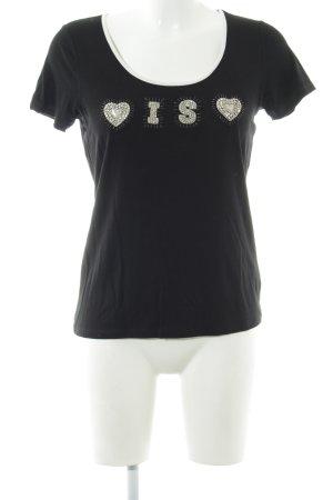 Tuzzi T-Shirt schwarz Casual-Look