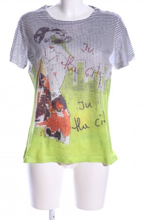 Tuzzi T-Shirt Allover-Druck Casual-Look