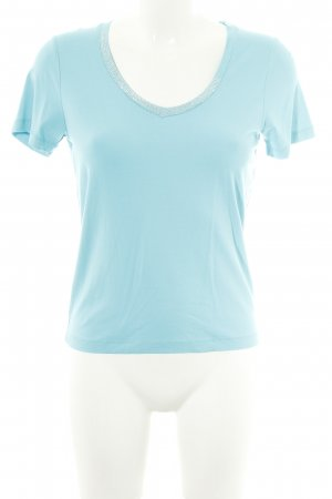 Tuzzi T-Shirt blau Casual-Look