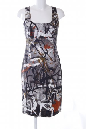 Tuzzi Trägerkleid abstraktes Muster Casual-Look