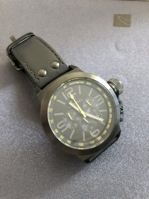 TW Steel -TW900 Chronograph Leder Herren-Armbanduhr