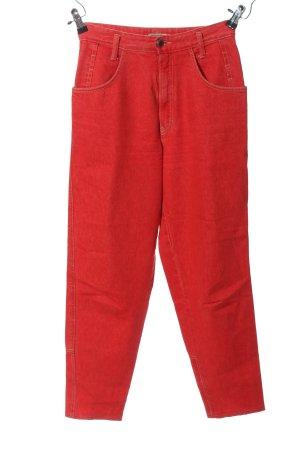 Tweans High Waist Jeans rot Casual-Look