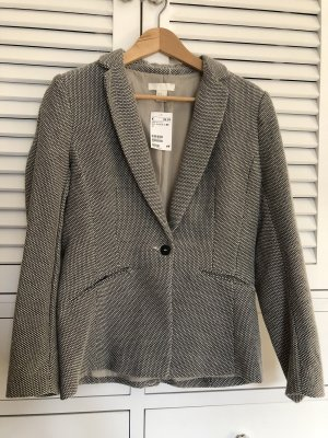 Woman for H&M Tweed blazer zwart-wit