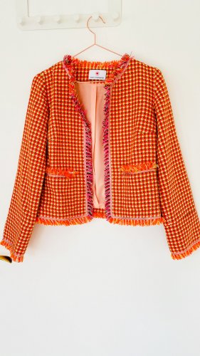 Tweed Blazer Jacke herzen' S angelegenheit Gr. 36