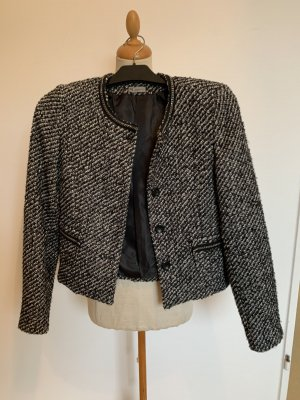 guarapo Tweed blazer zwart-wit