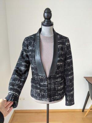 Zara Blazer in tweed nero