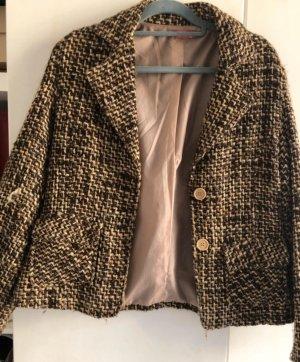 Tweed Blzer L braun