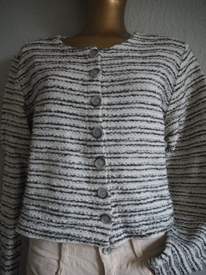 Tweed-Cropped-Cardigan Business/Casual-Look