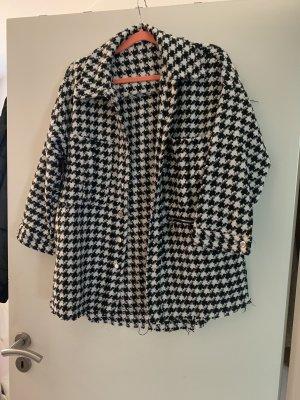 Tweed Hemd Hahnentrittmuster