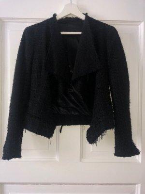 Tweed-Jacke von Zara, Gr. XS