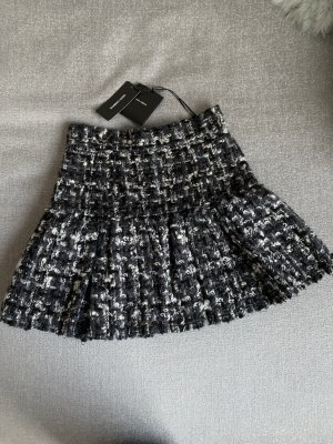 Dolce & Gabbana Tweed Skirt grey-white