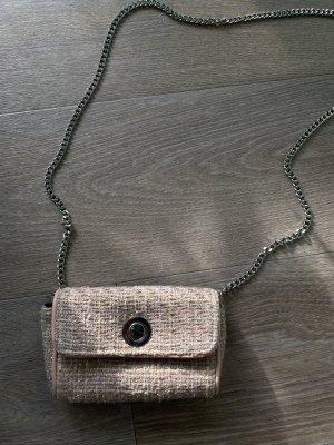 Tweed Schultertasche Zara Basic