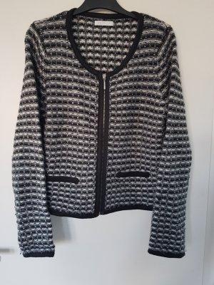 Tweed Strickjacke/Blazer mit Reisverschluss