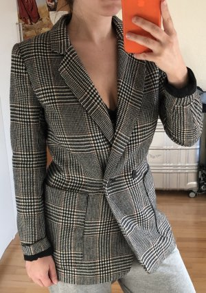 H&M Blazer in tweed multicolore Cotone