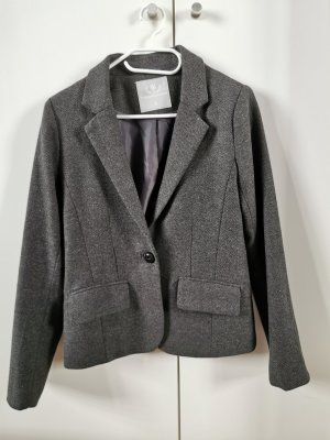 Foreign Exchange Blazer in tweed grigio