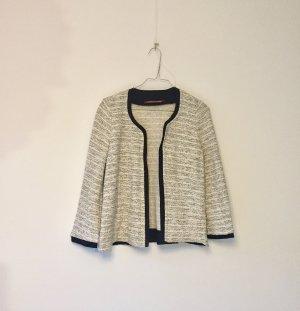 Comptoir des Cotonniers Tweed blazer zwart-wit