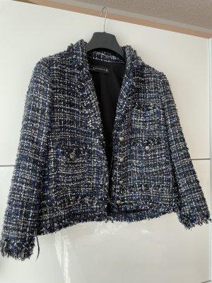 Zara Blazer in tweed multicolore