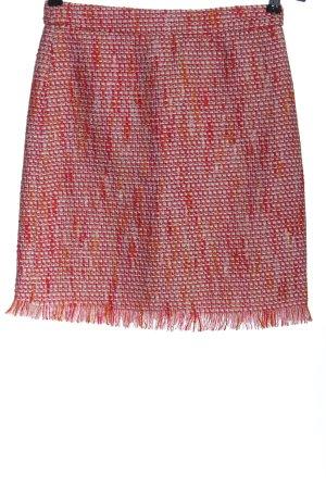 Tweedheart Jupe en tweed rouge élégant