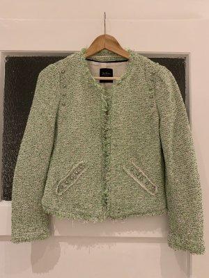 Zara Blazer en tweed multicolore coton