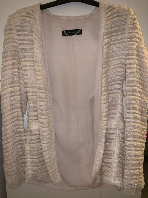 Tweedjacke mit Schulterpolster