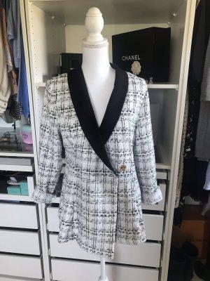 Tweedjacke weiß /schwarz