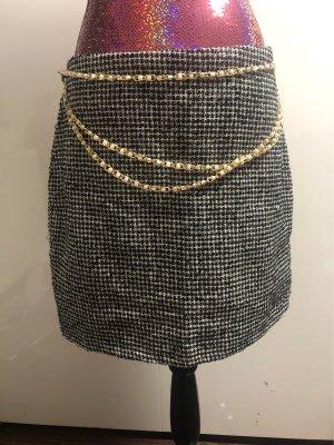 Fashion Union Tweedowa spódnica Wielokolorowy