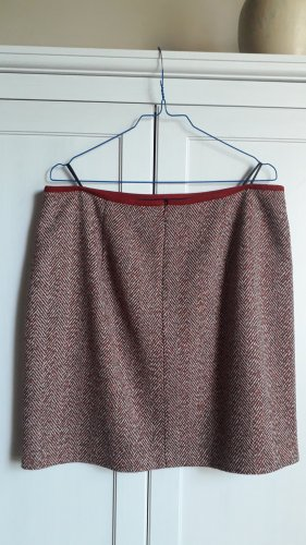 Esprit Tweed Skirt dark red