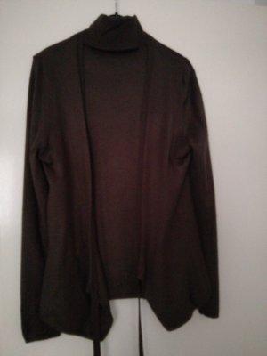 Sisley Ensemble en tricot brun coton