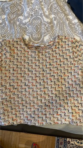 Zara Crochet Shirt multicolored