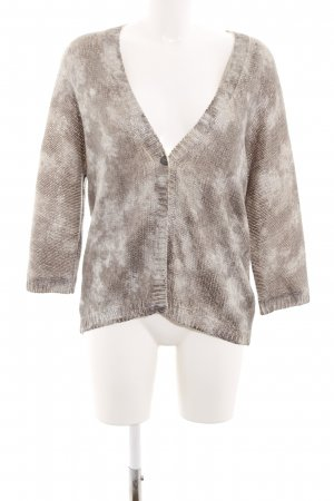 twenty six peers Coarse Knitted Jacket light grey-white color gradient
