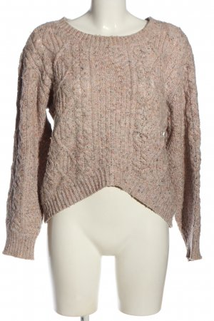 Twenty8twelve Coarse Knitted Sweater pink casual look