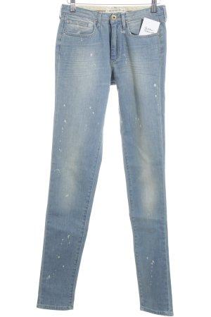Twenty8twelve Hoge taille jeans lichtblauw straat-mode uitstraling