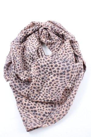 Twenty8twelve Pañuelo de seda estampado con diseño abstracto look casual