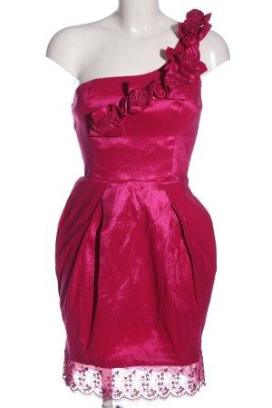 Twentyone Vestido de noche rosa estilo extravagante