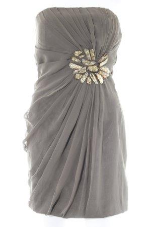 Twentyone Minikleid graubraun Elegant