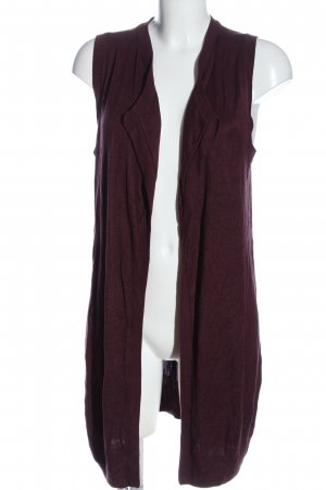 twik Long Knitted Vest lilac casual look