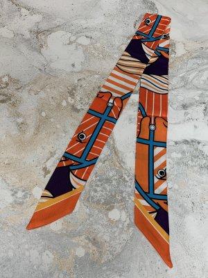 Twilly Tuch orange Pferd Horse neu Bag Scarf für Handtaschenhenkel